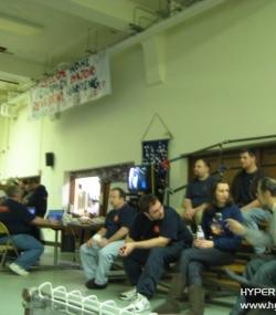 Adults and alumni watching the Kickoff '11