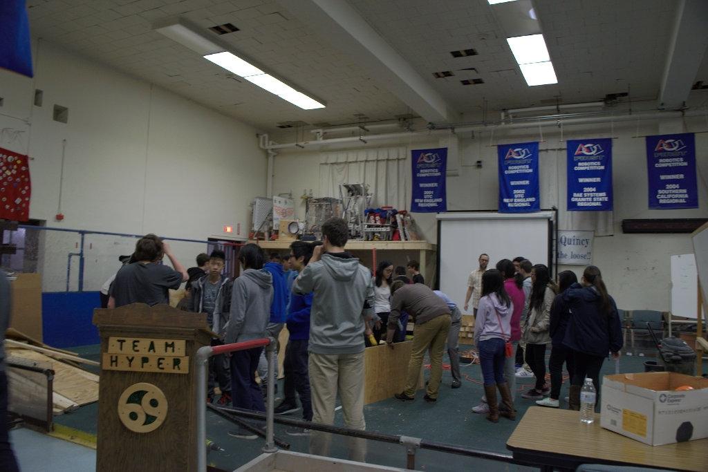 23.HYPER.Robotics Fall Wood Workshop