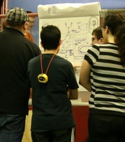 Students & Alumni brainstorming