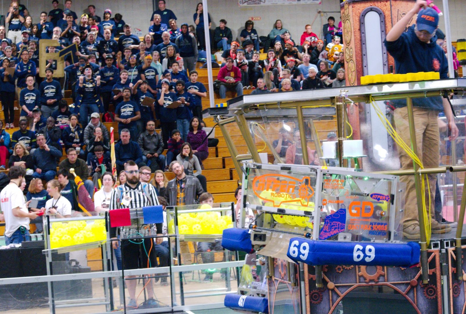 061.2017 Rhode Island District First Robotics Competition