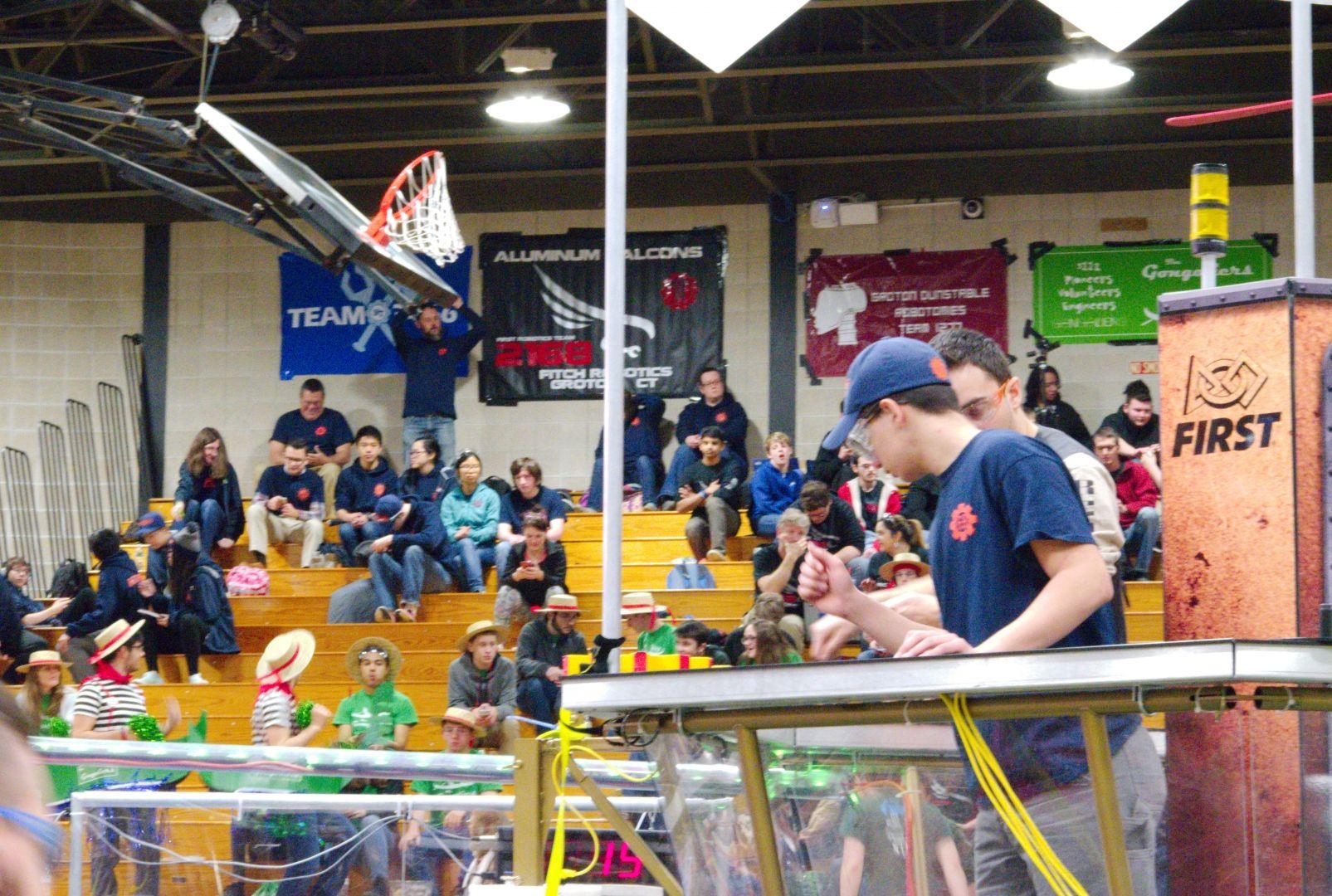 087.2017 Rhode Island District First Robotics Competition