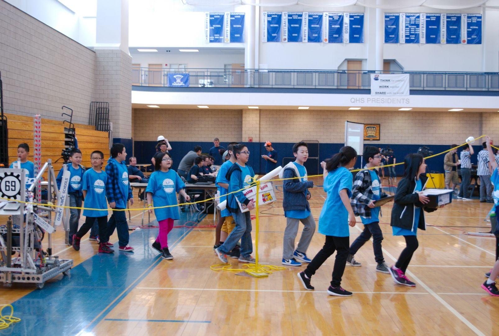 015.2017 Quincy Public Schools Robotics Challenge
