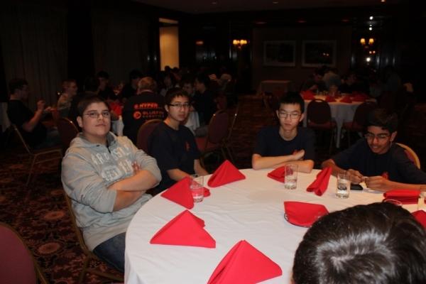 Team Dinner NH 2011