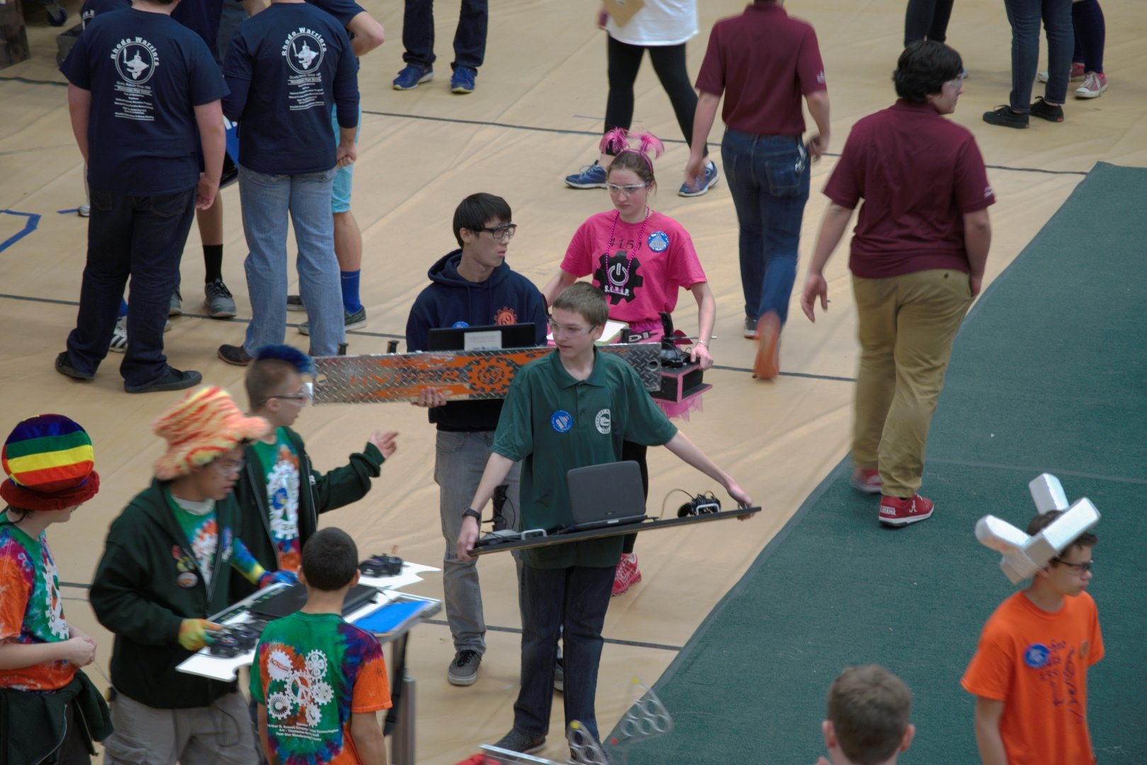 155-FIRST-Robotics-Competition-Umass-Dartmouth-March-18-20.2016-