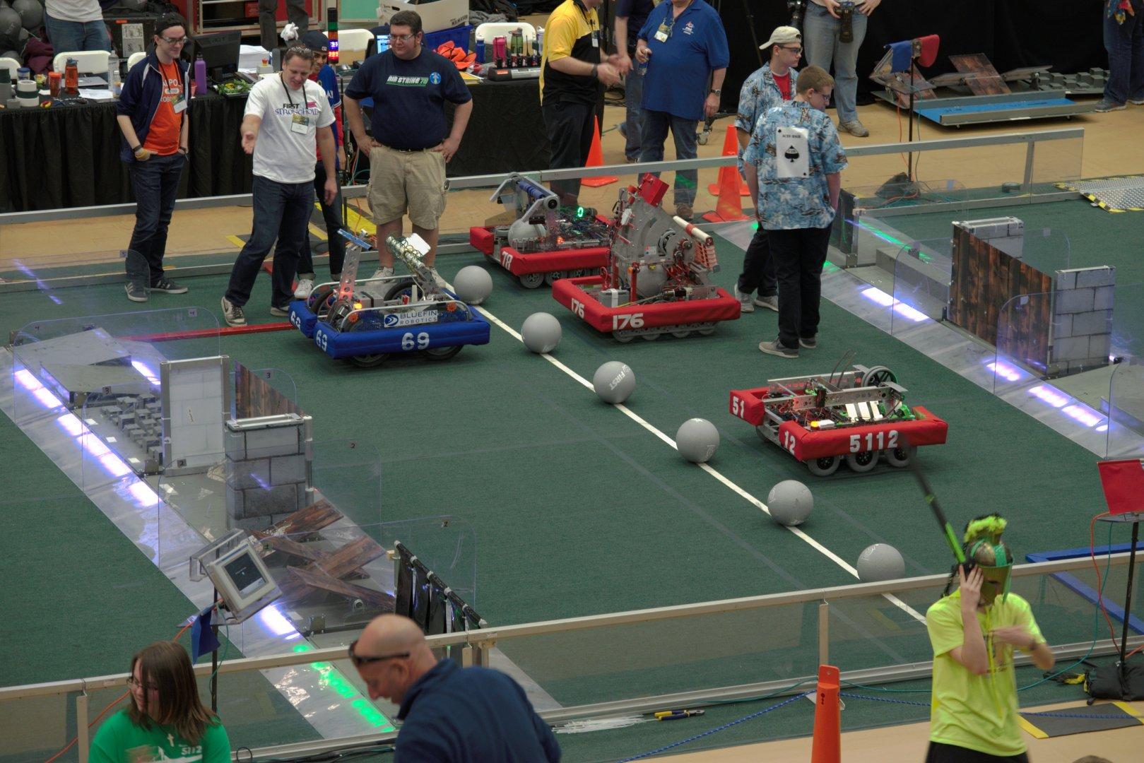 42-FIRST-Robotics-Competition-Umass-Dartmouth-March-18-20.2016-